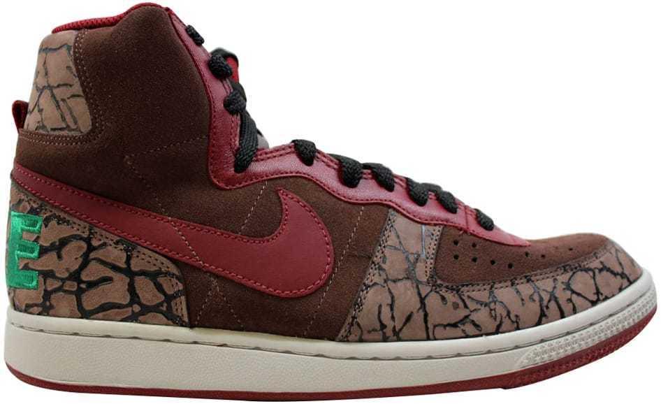 Nike Terminator Hi Premium Pino Roble Oscuro/Team RojoNegroVerde Pino Premium 307893261 be6f56