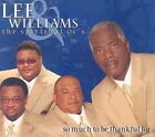 so Much to Be Thankful for 647867705626 by Lee Williams CD