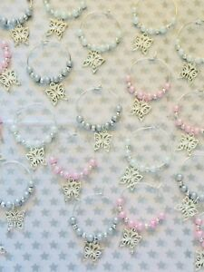 20pink-Grey-amp-White-Pearl-amp-Butterfly-Wedding-Wine-Glass-Charms-Baby-shower