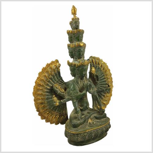 Chenrezig Avalokiteshvara Elfköpfig und Tausendärmig Buddha Tara 36 cm 3,6 KG