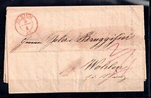 Switzerland-Entire-Letter-Zurich-to-Wohlen-WS12694