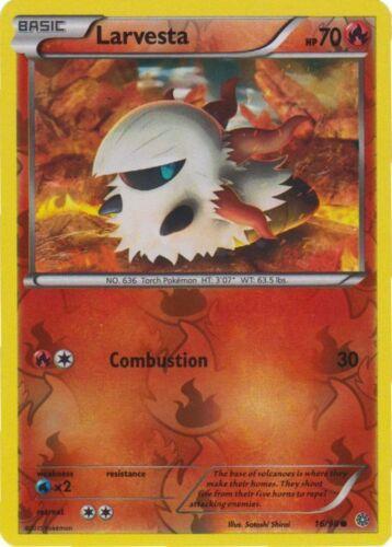 16//98 4x Larvesta Ancient Origins Reverse Holo NM-Mint Pokemon XY Common