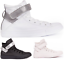 CONVERSE-Chuck-Taylor-All-Star-Leather-Sneakers-Chaussures-Bottes-pour-Femmes miniature 1