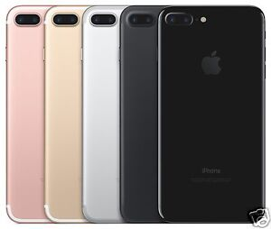 Apple Iphone 7 Plus Verizon Wireless Smartphone Black Gold Rose Gold