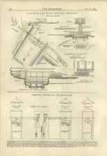1884 St Gothard Telegraphs Railway And Road Stocksbridge Cologne