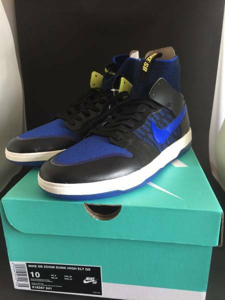 Nike SB Zoom Dunk High ELT QS Racer bluee Kevin Terpening Limited Edition Japan