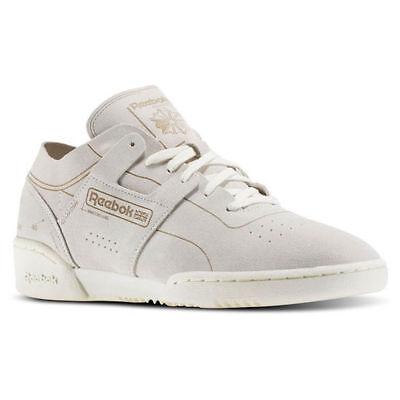Reebok CLASSICS MEN'S WORKOUT LOW CLEAN HMG Shoes BD1966 | eBay