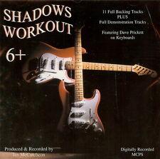 SHADOWS WORKOUT 6 +   BACKING TRACK CD BY Ian McCutcheon