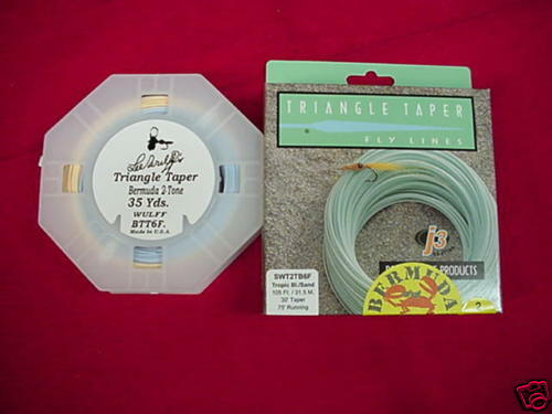 Royal Wulff Fly Line Bermuda Triangle Taper 2 Tone