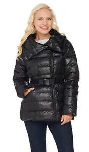 Noir Bælte Puffer Msrp Jacket i l Black i Size G 141 4 7wqaOtcYyw