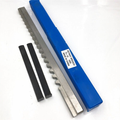 HSS Keyway Broach 14mm D Push-Type Metric Size CNC Machine Tool Y