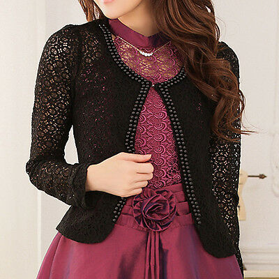 New womens top blouse cardigan dress sweater jacket AU size 10 12 14 16 18 #1539