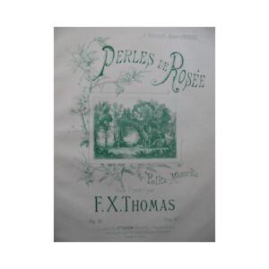 THOMAS-F-X-Perles-de-Rosee-piano-partition-sheet-music-score