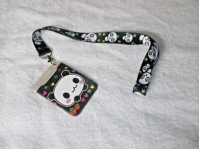 Acquista A Buon Mercato Panda Bear Id Card Badge/pass Holder + Cordino 1-mostra Il Titolo Originale I Clienti Prima Di Tutto