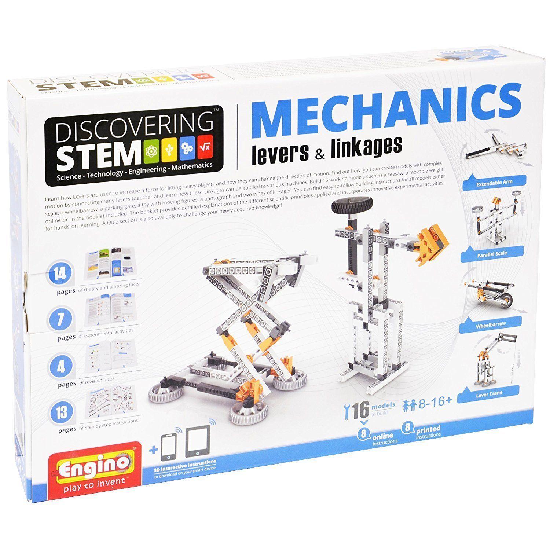 ENGINO ENG STEM01 Discovering STEM Mechanics Levers & Linkages Construction Kit