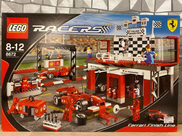 Lego Racers Ferrari Zieleinfahrt 8672 Günstig Kaufen Ebay