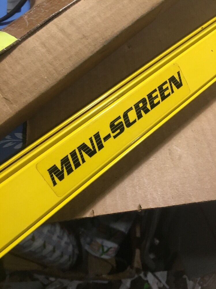 USED BANNER MSR4824Y 4-FOOT MINI-SCREEN LIGHT CURTAIN RECEIVER FREE SHIPPING