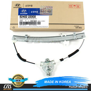 GENUINE Window Regulator Manual FRONT RIGHT For 95 99 Hyundai Accent