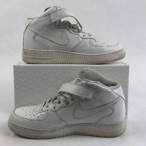 Details about Nike Air Force 1 One Mid Top White 315123 111 AF1 Mens 10