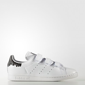 New Adidas Original Womens Stan Smith CF BY2975 WHITE US W 5.0 - 9.0 ... a7c471e368ccb