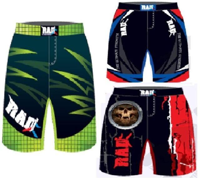 Pantaloncini da lotta Rad MMA Grappling Lotta Gabbia Kick Boxing Muay Thai Pantaloncini UFC