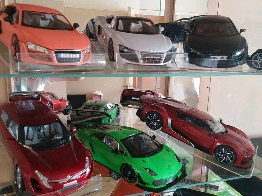 5 x risers for 1 18 diecast cars. cars. cars. e027ab