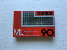 1987 KONICA KX-II 90 NORMAL POSITION TYPE I BLANK AUDIO CASSETTE