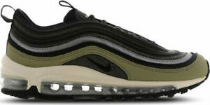 wholesale dealer eda5f 32457 Details about Juniors Unisex Nike Air Max 97 BG SHIELD BV0870 200  Khaki/Black/Grey Size UK 4