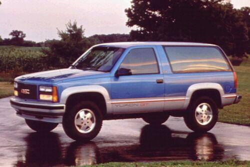Suburban Chevy GMC 92 99 Tahoe 2Pc Left Rear Door Bottom Set Inner Outer Yukon