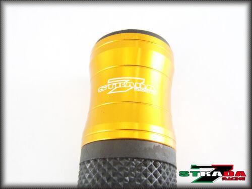 Honda CBR1100XX BLACKBIRD VTX1300 ST 1300 Strada 7 Racing CNC Hand Grips Gold