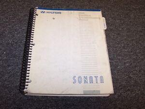 2000 Hyundai Sonata Sedan Electrical Wiring Diagram Manual ...