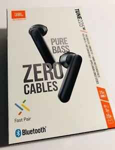 JBL Harman Tune 225TWS verdadero Inalámbrico puro bajo cero In-Ear Auriculares Negro Cable