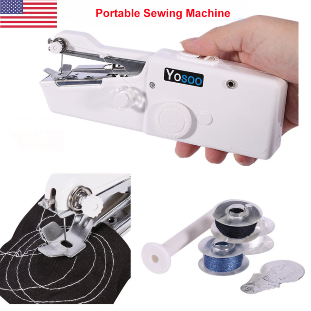 Electric Tailor Stitch Handheld Sewing Machine Mini Portable Smart Unique Portable Hand Sewing Machine