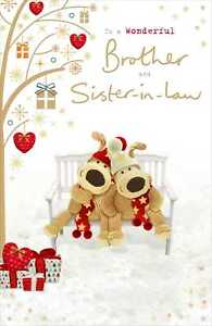 Boofle For A Very Special Couple Christmas Greeting Card Cute Xmas Cards