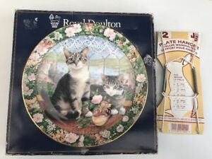 Royal-Doulton-Cats-In-The-Window-Decorative-Plate