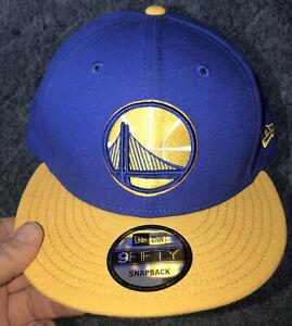 Nwt Men's NBA Golden State Warriors NEW ERA HAT 9FIFTY SNAPBACK.