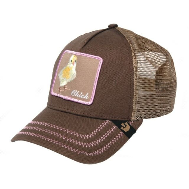 a369cab5412 Goorin Bros Chicky Boom Trucker Cap - Brown for sale online