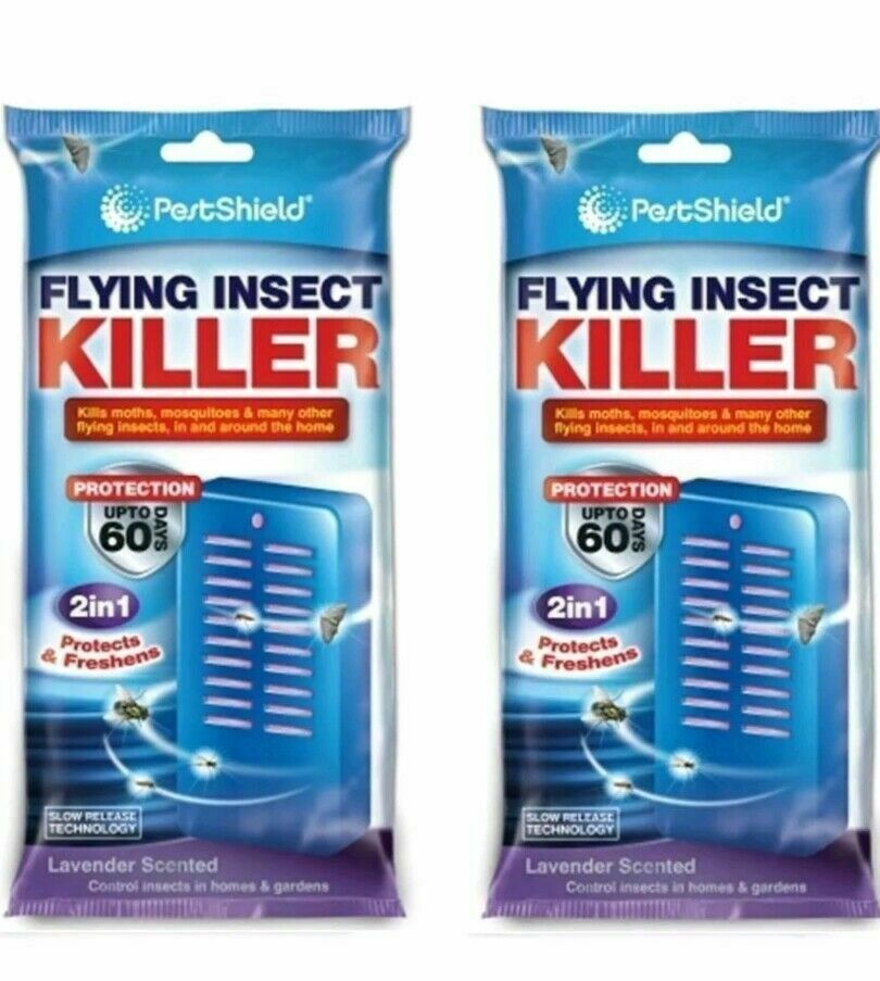 2x Flying Insect Killer Catcher Advance Formula Kills Moths Mosquitos Flies 2in1