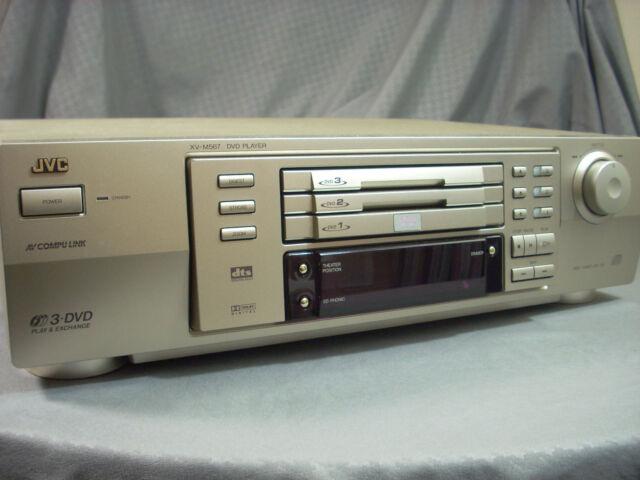 JVC XV-M567GD DVD Player Three Slot DVD Player Tested