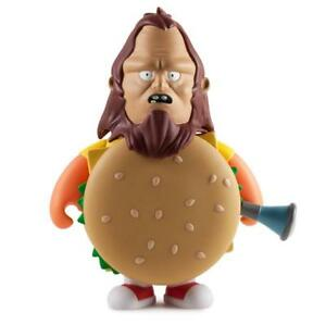KIDROBOT-BOB-039-S-BURGERS-BEEFSQUATCH-7-IN-FIGURE-BEAUTIFUL-PLASTIC-NEW