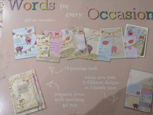 Greeting Card Packs words For Every Occasion gift set