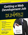 Getting a Web Development Job For Dummies by Kathleen Taylor, Bud E. Smith (Paperback, 2015)