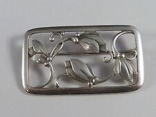 florale Brosche - Georg Jensen / Dänemark - #295 - 925 Sterling Silber