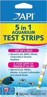 Api 5 In 1 Aquarium Test Strips 4ct on sale