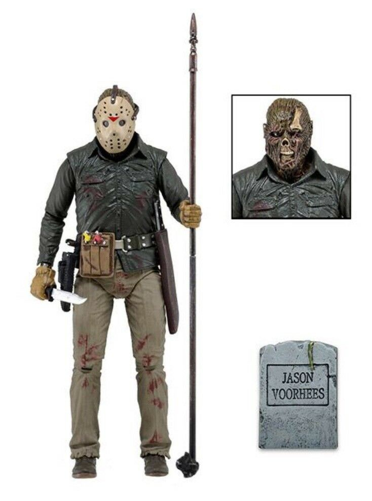 """Friday The 13th Part 6 Jason Official 7"""" Ultimate Figure With Accessories NECA"""