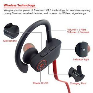 cbcba67356e Bluetooth Headphones Small Target Best Wireless Sport Earphones W/mic Ipx7