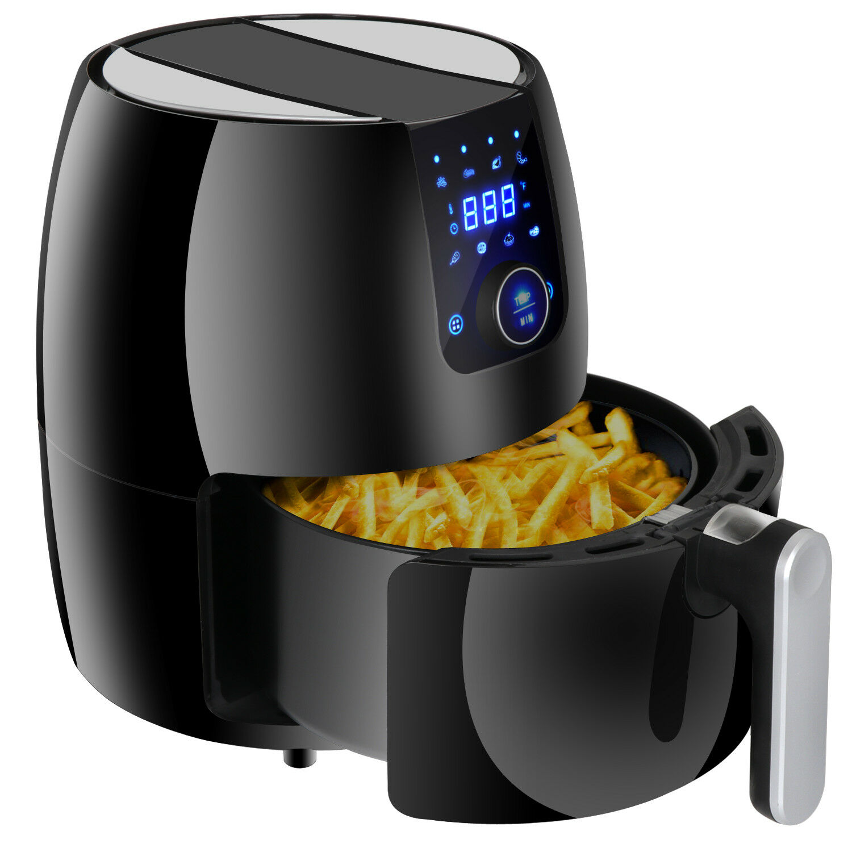 Digital Electric Temperature Control 3.7Qt Air Fryer Home Kitchen Healthy Life