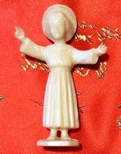 """Vintage 3.5"""" Plastic Jesus Figure"""