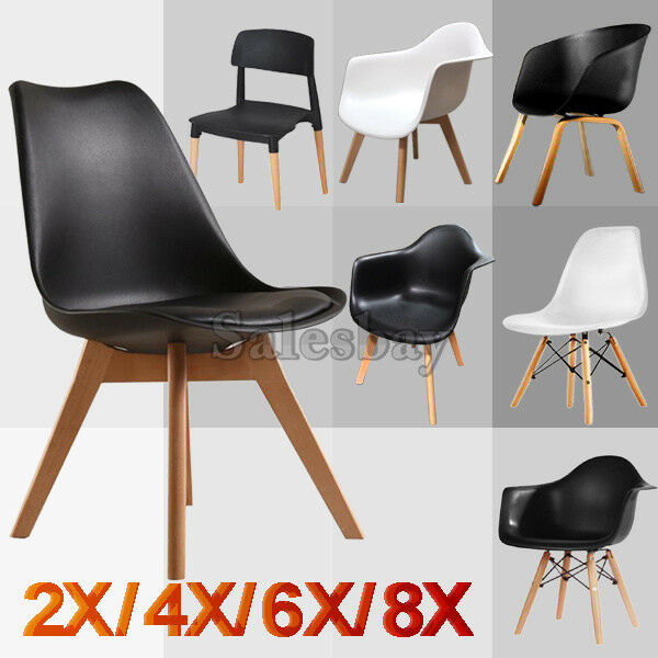 Dining Table 4 X Eames Chair