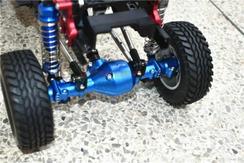GPM RACING ALUMINUM FRONT /& REAR GEAR BOX For 1//10 TAMIYA CC-02 Chassis G500